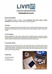 LIVININ_programator_Control4